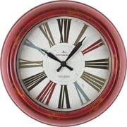 """FirsTime® Red Relic 10"""" Wall Clock (99632)"""