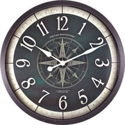"FirsTime® Compass Rose Oversized 24"" Wall Clock (10062)"