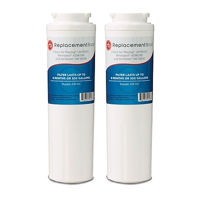 ReplacementBrand 2-Pack Refrigerator Filter for Matag UKF8001 Refrigerator (RB-M1)