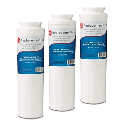 ReplacementBrand 3-Pack Refrigerator Filter for Matag UKF8001 Refrigerator (RB-M1)