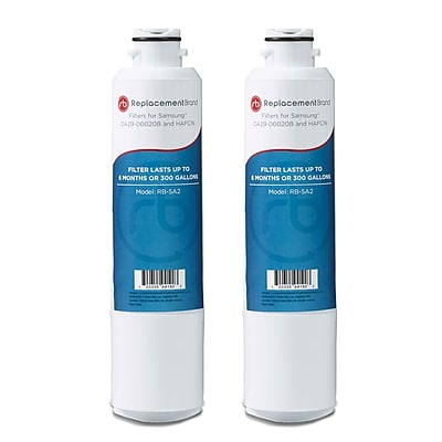 Replacement B rand 2-Pack Refrigerator Filter for Samsung DA29-00020B Refrigerator (RB-SA2) 2662541