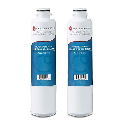 Replacement B rand 2-Pack Refrigerator Filter for Samsung DA29-00020B Refrigerator (RB-SA2)
