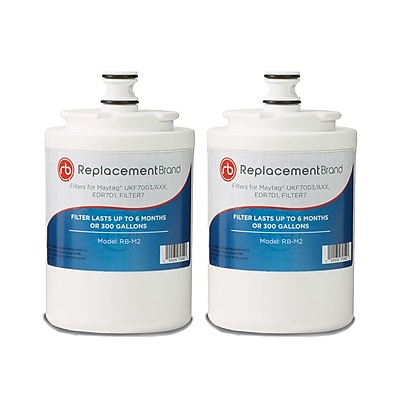 ReplacementBrand 2-Pack Refrigerator Filter for Matag UKF7003 Refrigerator (RB-M2)
