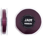 JAM Paper® Double Faced Satin Ribbon, 3/8 inch Wide x 25 yards, Burgundy, Sold Individually (803SAwi25)