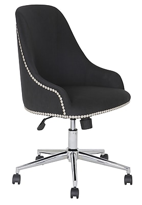 Boss Carnegie Desk Chair - Black (B516C-BK)