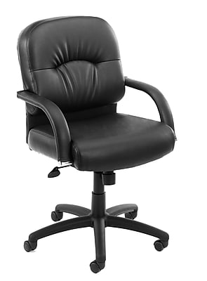 Boss Mid Back Caressoft™ Chair In Black (B7406)