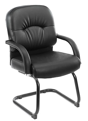 Boss Mid Back Caressoft™ Guest Chair In Black (B7409)