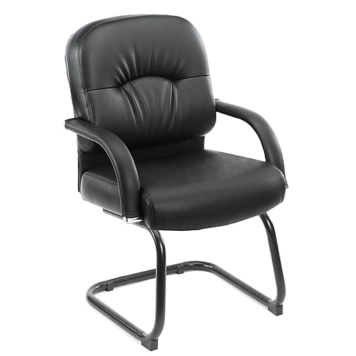 Boss Mid Back Caressoft™ Guest Chair In Black