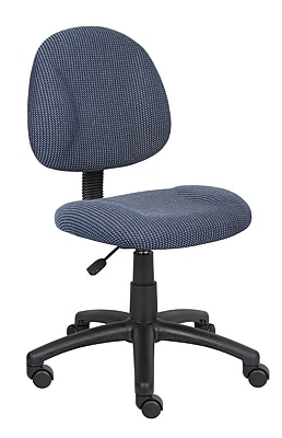 Boss Blue Deluxe Posture Chair (B315-BE)