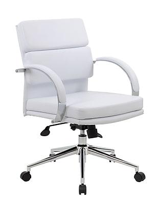 Boss CaressoftPlus™ Executive Series- White (B9406-WT)