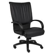 Boss High Back Black LeatherPlus Executive Chair (B9701)