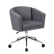 Boss Metro Club Desk Chair - Slate Grey (B416C-SG)