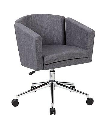 Boss Metro Club Desk Chair - Slate Grey (B416C-SG)