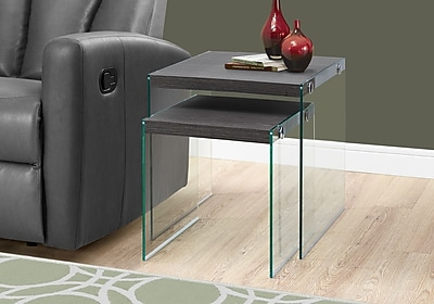 Monarch Specialties Nesting Tables Grey (I 3221)