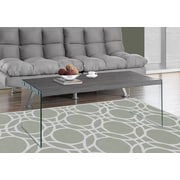 Monarch Specialties Coffee Table Grey (I 3220)