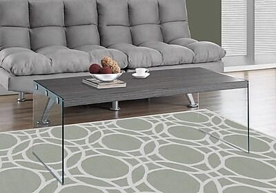 Monarch Specialties Coffee Table Grey (I 3220)