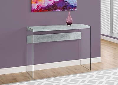 Monarch Specialties Console Table Grey (I 3232)