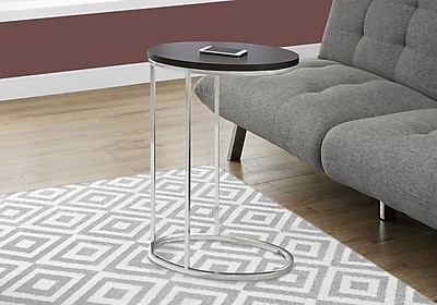 Monarch Specialties Accent Table Cappuccino (I 3242)