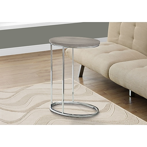 Monarch Specialties Accent Table Dark Taupe (I 3241)