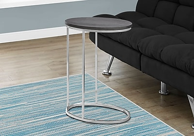 Monarch Specialties Accent Table Grey (I 3243)