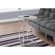Monarch Specialties Accent Table Grey (I 3244)