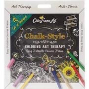 Adult Coloring Foldable Canvas Frame Assortment 4/Pkg-Black Be Happy (B1619)
