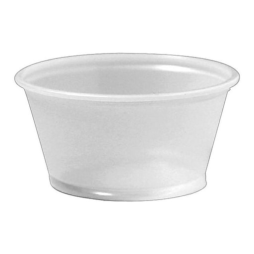 Dixie Portion Cups, 2400/Case (020XXTRANSL)