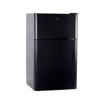 Commercial Cool 3.2 Cu. Ft. Refrigerator with Freezer, Black (CCRD32B)