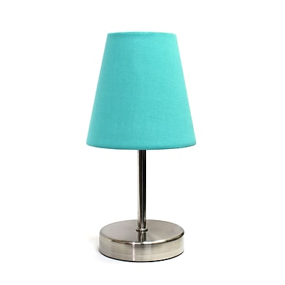 Simple Designs Incandescent Table Lamp, Blue (LT2013-BLU)