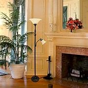 Elegant Designs Incandescent Floor Lamp, Restoration Bronze (LF2003-RBZ)