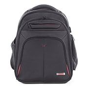 Swiss Mobility Purpose Backpack, Polyester, Black (BKP1000SMBK)