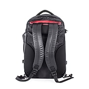 Swiss Mobility Convertible Backpack, Polyester, Black (BKP1090SM-BLACK)