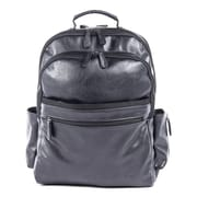 Bugatti Valentino Backpack, Vegan Leather, Black (BKP116-BLACK)
