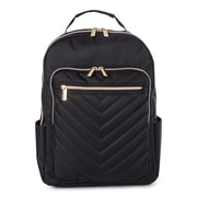 Bugatti Backpack, Polyester, Black (BKP2011BU-BLACK)