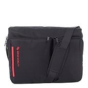 Swiss Mobility Stride Messenger Bag, Polyester, Black (MSG1019SMBK)