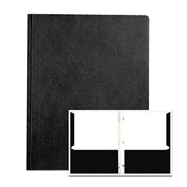 Roaring Spring Paper Products POCKETSandPRONGS 11.75 in. x 9.5 in. BlACK - Pack of 10 (RSPRD567)