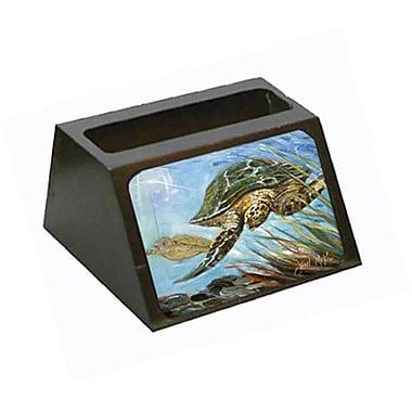 Carolines Treasures loggerhead Sea Turtle Business Card Holder (CRlT68967)