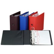 Cardinal Brands- Inc D-Ring Binder- Vinyl- 5in. Capacity- 11in.x8-.50in.- Blue (SPRCH21449)