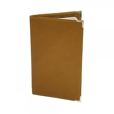 Piel leather Vertical Score Card Cover- Saddle (PIEl1554)