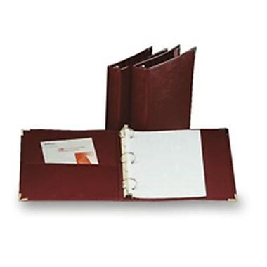 Cardinal Brands- Inc Binder- 3 Ring- Vinyl- 1-.50in. Capacity- 11in.x8-.50in.- Burgundy (SPRCH19140)