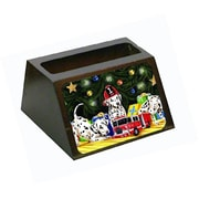 Carolines Treasures Christmas Favorite Gift Dalmatian Business Card Holder (CRlT87988)