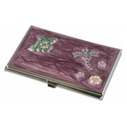 Visol Visol Dragonfly Crystals and lacquer Womens Business Card Case (VISOl2771)