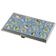 Visol Visol Oceana Crystals with Oceanic Themed Womens Business Card Case (VISOl2768)
