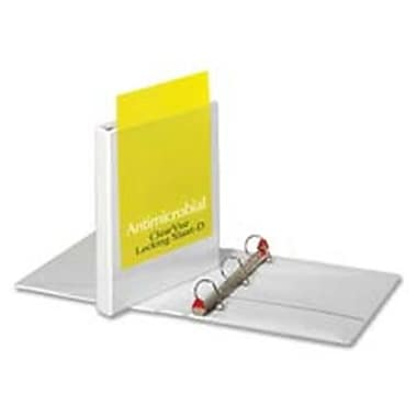 Cardinal Brands- Inc Antimicrobial Binder- Slant-D Ring- 11in.x8-.50in.- Cap 2in.- WE (SPRCH13085)