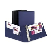 Avery Consumer Products Durable Slant-Ring Binder- 4in.- 11in.x8-.50in.- Blue (SPRCH16002)