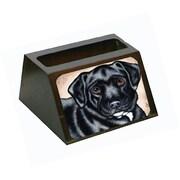 Carolines Treasures Black Bart the labrador Business Card Holder (CRlT88268)