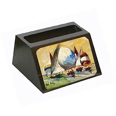 Carolines Treasures Bimini Sails Sailboat Business Card Holder (CRlT68816)