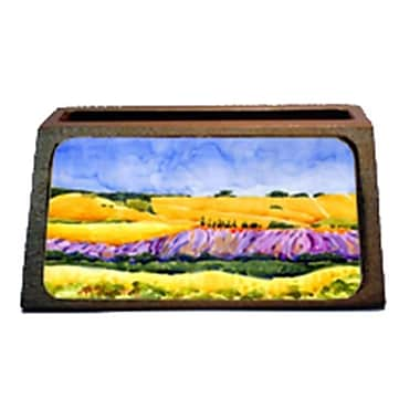 Carolines Treasures landscape Decorative Desktop Professional Wooden Business Card Holder (CRlT16198)