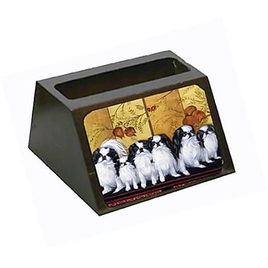 Carolines Treasures Japanese Chin Tea House Business Card Holder (CRlT79317)