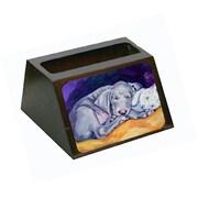 Carolines Treasures Weimaraner Snuggle Bunny Business Card Holder (CRlT80450)